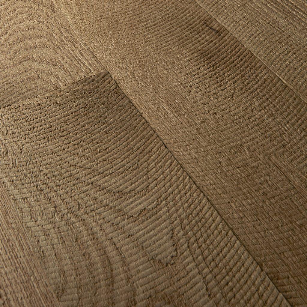 Custom Flooring - Circle Sawn