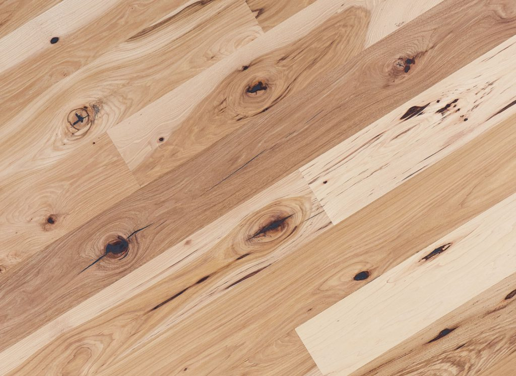 Rustic Hickory/Pecan Hardwood Flooring