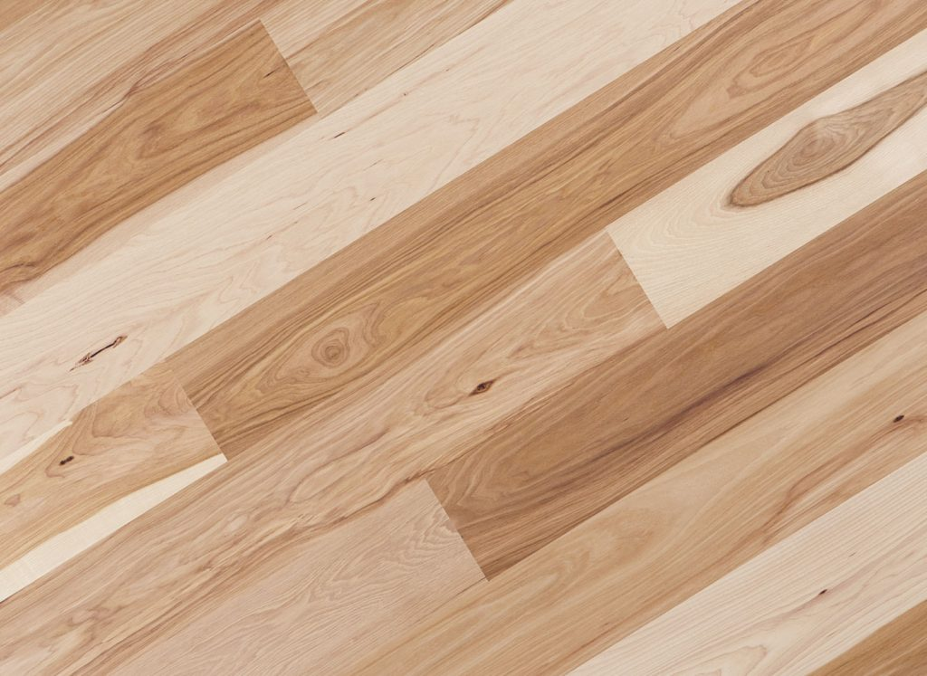 Select Hickory and Pecan Hardwood Flooring