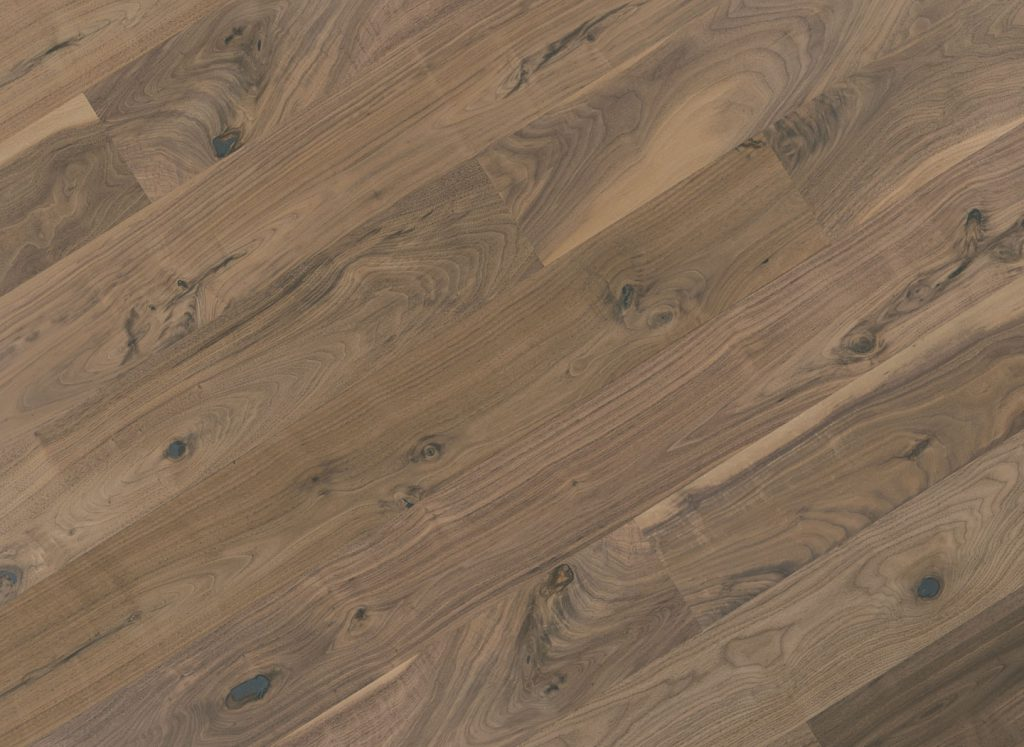 Rustic Walnut Flooring at Saroyan