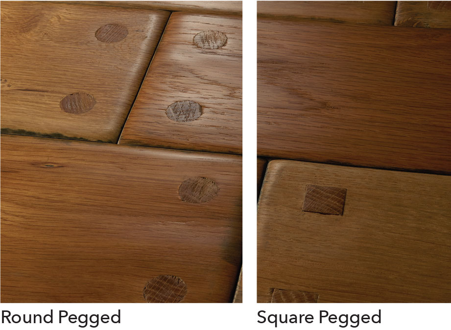 Pegged Hardwood Flooring: Breaking it Down 1