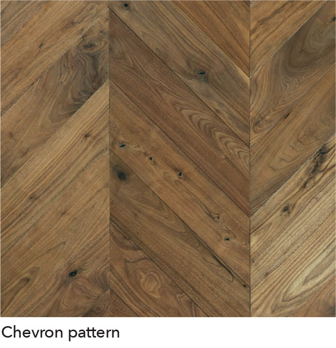 Chevron Hardwood Floors 1