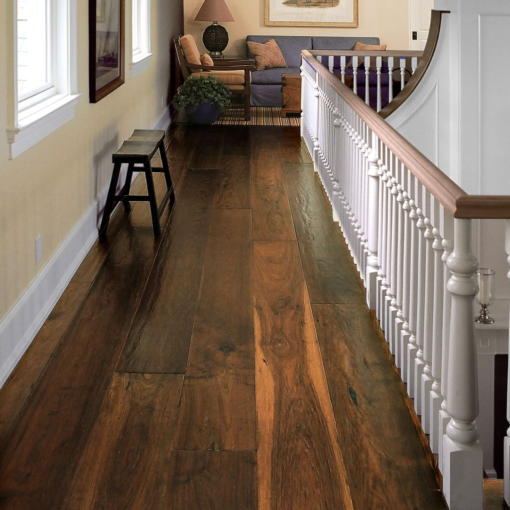Ultra Wide Plank Hardwood Flooring