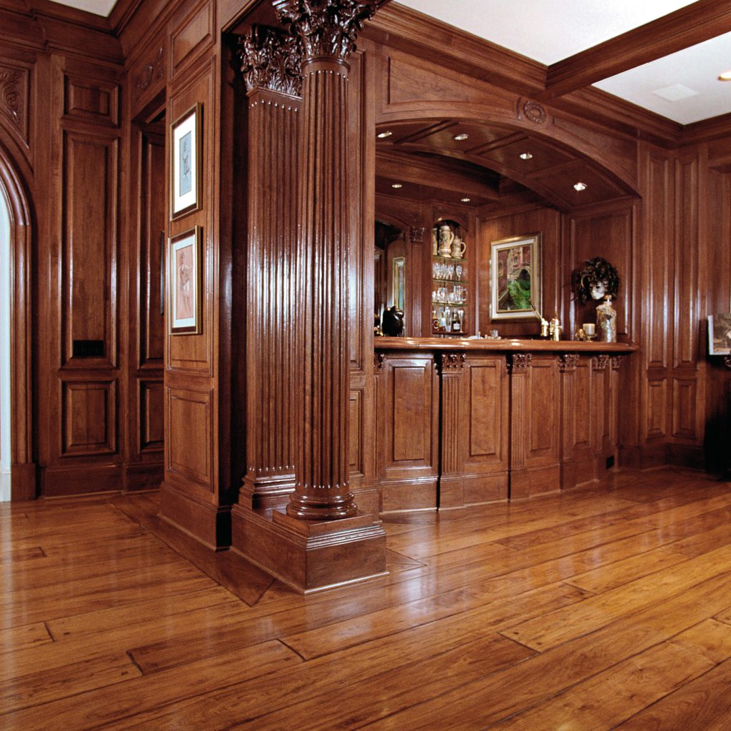 Signature Hardwood Moulding and Paneling