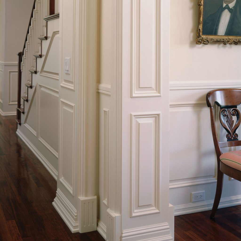 Traditional Hardwood Moulding and Paneling